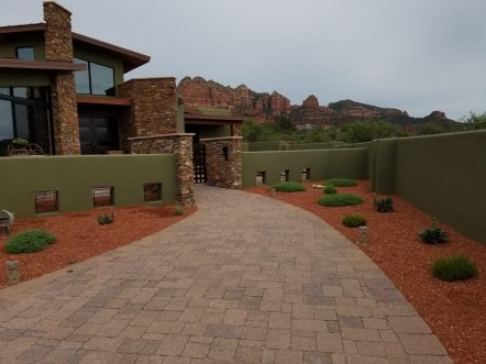PAVER ENTRYWAY by GREEN MAGIC