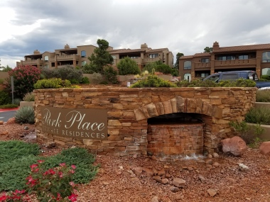 LUXURY CONDO ENTRANCE-SEDONA