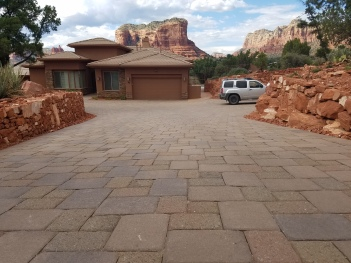 SEDONA DRIVEWAY by GREEN MAGIC